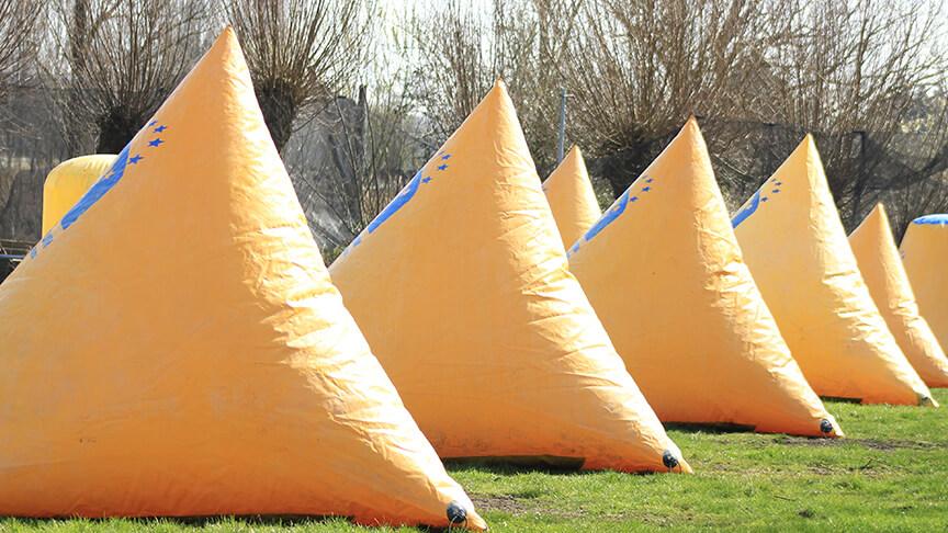 Paintball Supair bunkers
