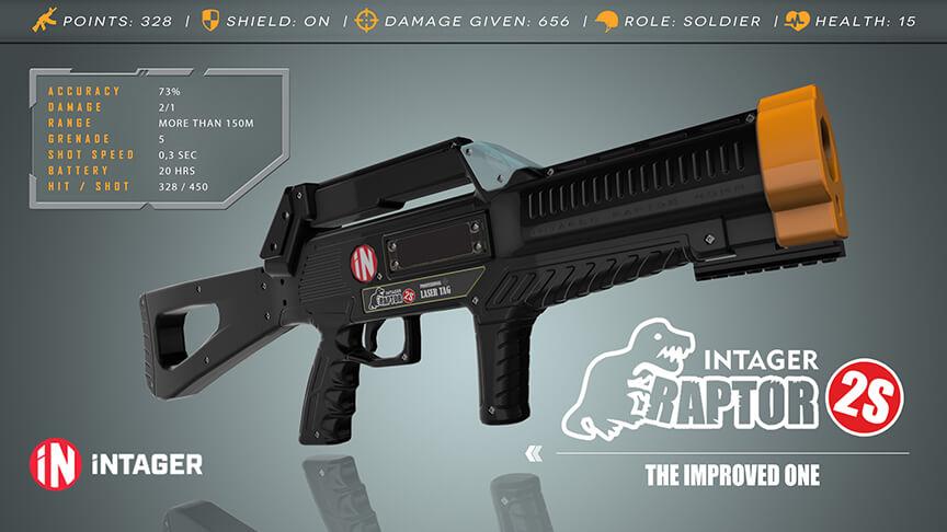 eXtreme lasergame Raptor