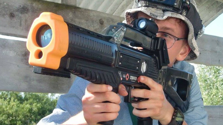 eXtreme lasergame outdoor lasergame