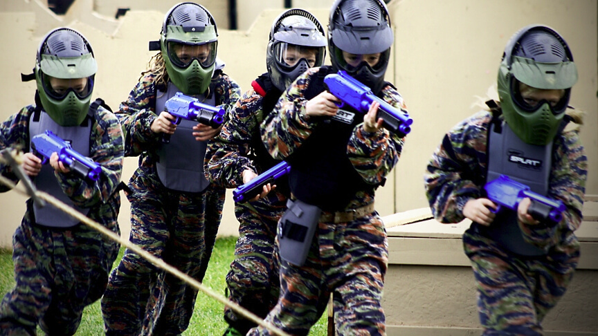 eXtreme lasergame kinder paintball outdoor
