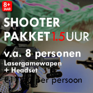 Lasergame Shooter Pakket