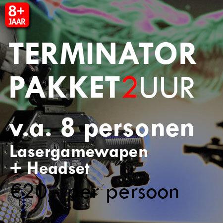 Lasergame Terminator Pakket