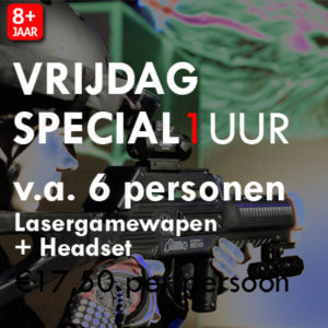 Lasergame Vrijdagavond Special