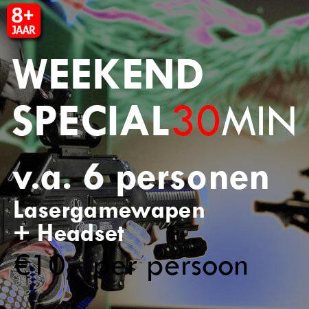 Lasergame Weekend Special